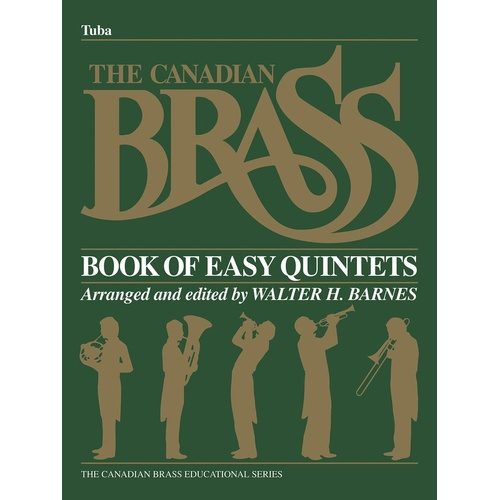 Canadian Brass Begin Quintets Tuba (Softcover Book)