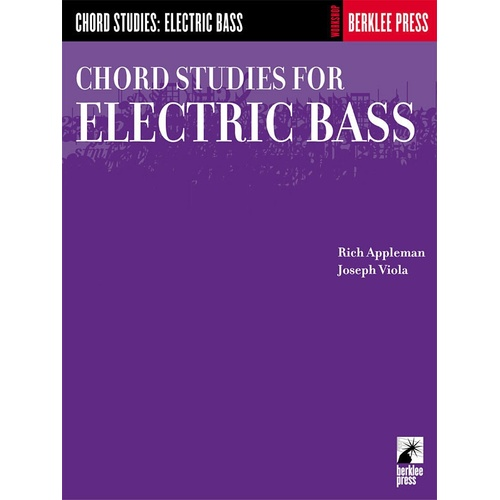 Chord Studies For Electric Bass (Softcover Book)