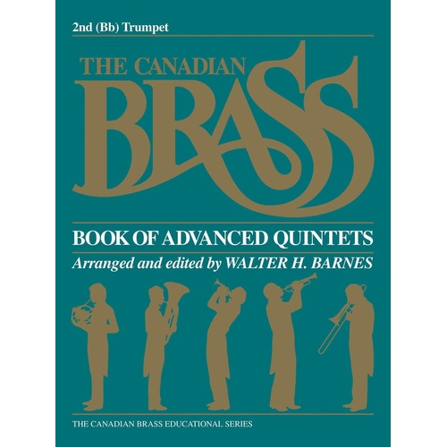 Canadian Brass Book Advanced Quintets Trumpet 2 (Part) Book