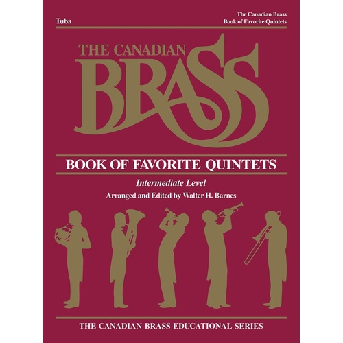 Canadian Brass Favorite Quintets Tuba (Softcover Book)