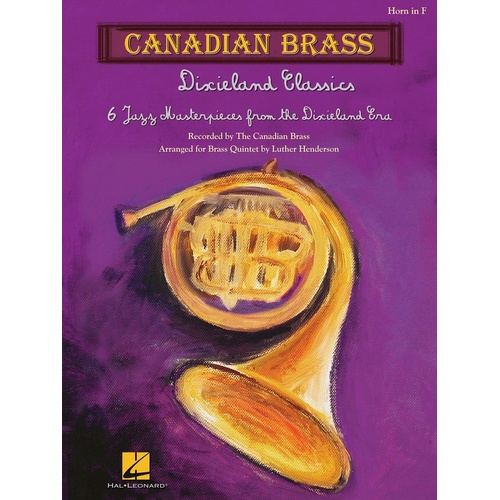 Canadian Brass Dixieland Classics Horn (Softcover Book)