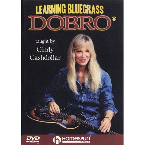 Learning Bluegrass Dobro DVD (DVD Only)