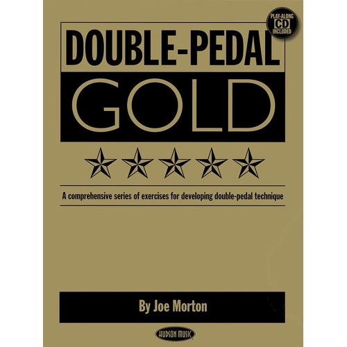 Double Pedal Gold Drum Book/CD (Softcover Book/CD)
