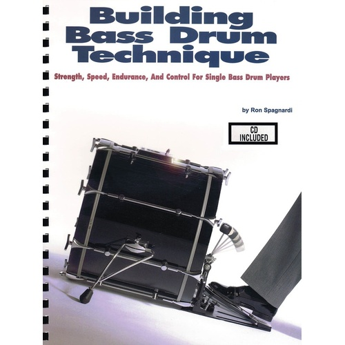 Building Bass Drum Technique Book/CD (Softcover Book/CD)