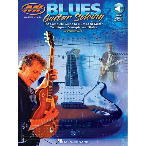 Blues Guitar Soloing Book/Online Audio (Softcover Book/Online Audio)