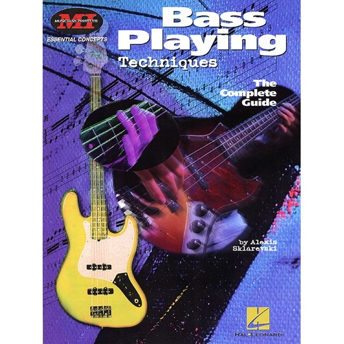 Bass Playing Techniques Mi (Softcover Book)