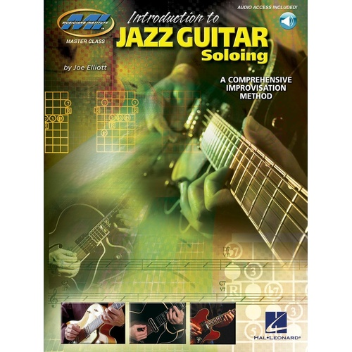 Introduction To Jazz Guitar Soloing Mi Book/CD Guitar (Softcover Book/CD)