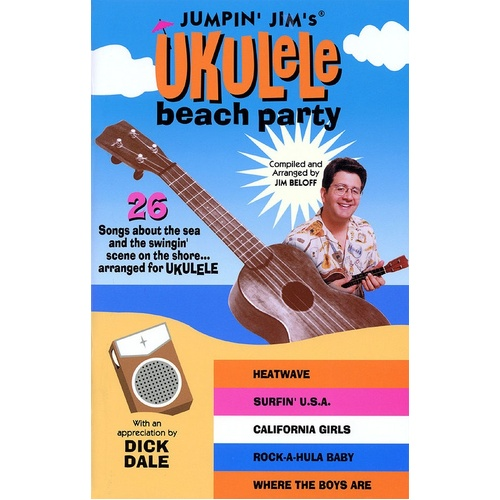 Jumpin Jims  Ukulele Beach Party (Softcover Book)