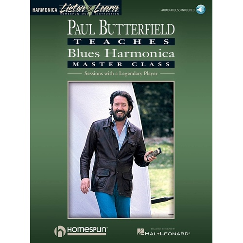 Butterfield - Blues Harmonica Master Class Book/Online Audio (Softcover Book/Online Audio)