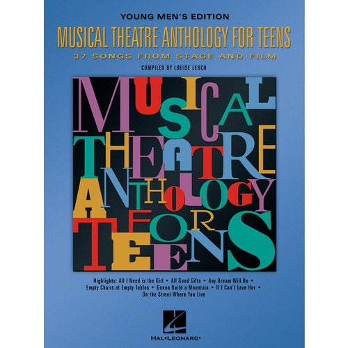 Musical Theatre Anth Teens Mens (Softcover Book)