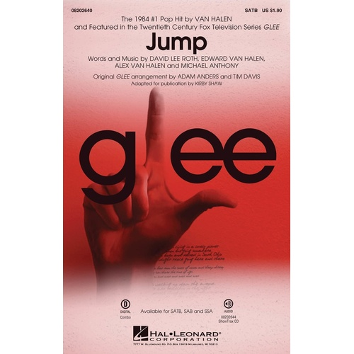 Jump From Glee ShowTrax CD (CD Only)