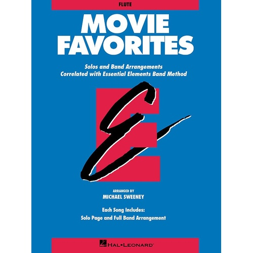 Essential Elements Movie Favorites Bass Clarinet