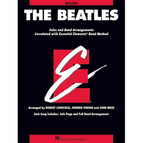 Beatles Essential Elements Bassoon Essential Elements (Softcover Book)