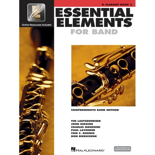 Essential Elements For Band Book2 Clarinet Eei (Softcover Book/CD)