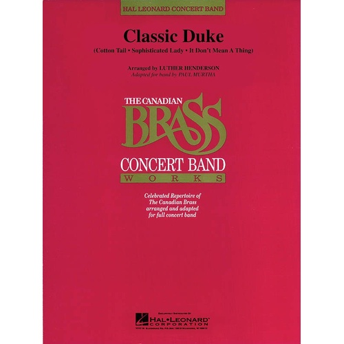 Classic Duke Concert Bandcb4 (Music Score/Parts)
