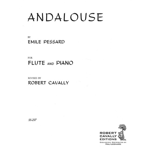 Pessard - Andalouse For Flute/Piano Ed Cavally (Softcover Book)