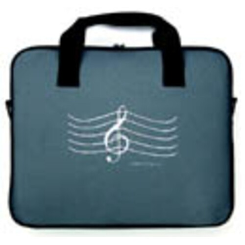 Attache Case G Clef Grey