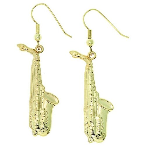 Earrings Saxophone