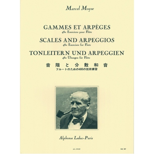 Marcel Moyse Scales And Arpeggios For Flute (Softcover Book)