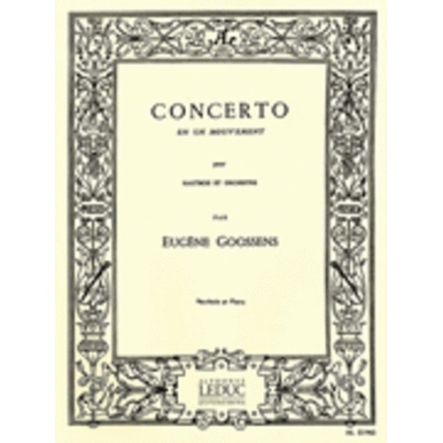 Concerto En Un Mouvement Oboe (Softcover Book)