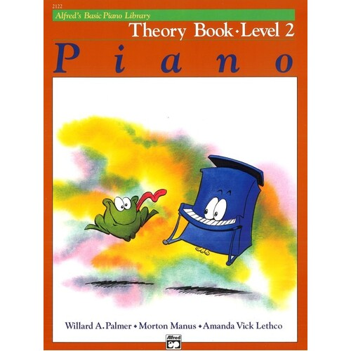 Alfred's Basic Piano Theory Level 2 (Softcover Book)