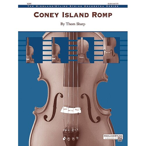 Coney Island Romp So2.5 Score/Parts Book