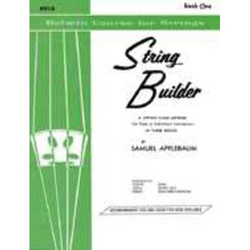 String Builder Book 1 Vla Part (Softcover Book)