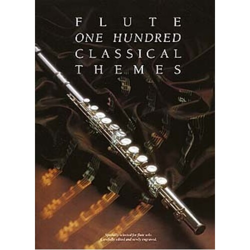100 Classical Themes For Flute (Softcover Book)