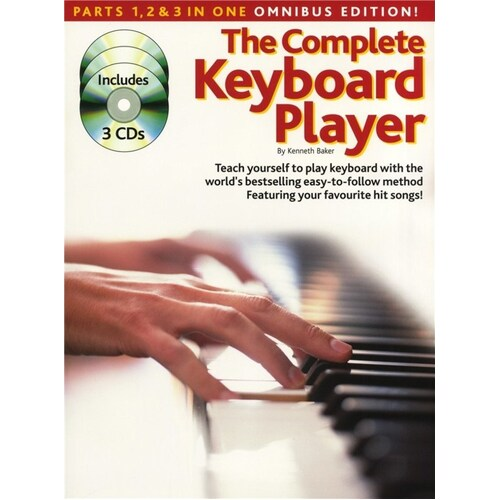 Complete Keyboard Player Omnibus Revised Softcover Book/CD