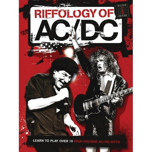 AC/DC Riffology Guitar TAB (Softcover Book)
