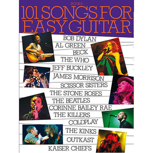 101 Songs For Easy Guitar Book 6 (Softcover Book)