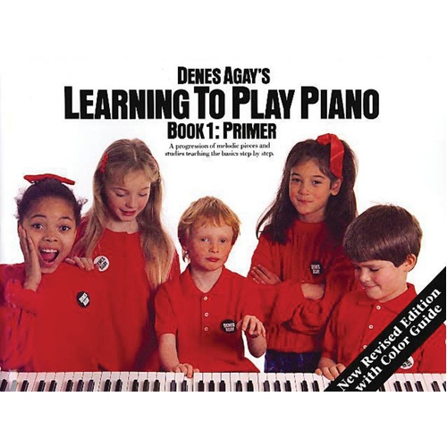 Agay Learning To Play Piano 1 Getting Started (Softcover Book)