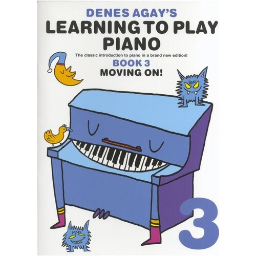 Agay Learning To Play Piano 3 Moving On (Softcover Book)