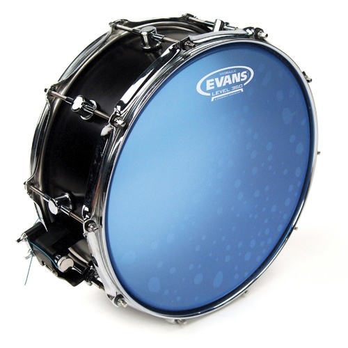 Evans Hydraulic Blue Snare Batter Drum Head, 14 Inch *SKIN ONLY*