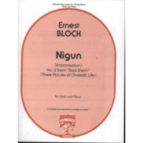 BLOCH - NIGUN NO 2 FROM BAAL SHEM VIOLIN/PIANO