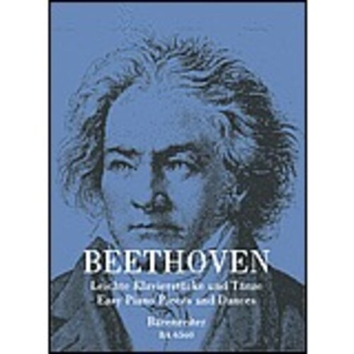 Beethoven Easy Piano Pieces And Dances Urtext (Softcover Book) Urtext Edition Book