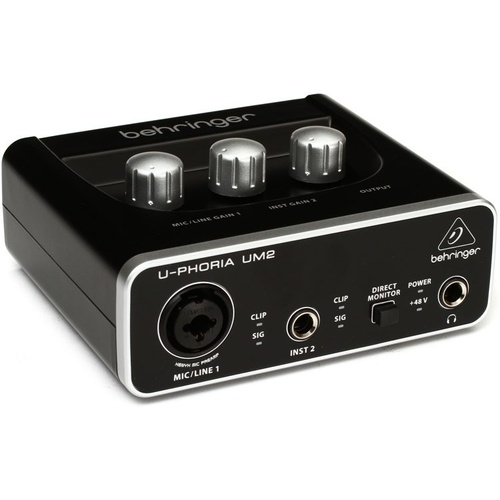 Behringer UM2 U-Phoria 2x2 Audio Interface