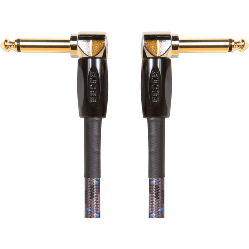 Boss BIC-PC 15cm Angled to Angled Instrument Cable (3 Pack)