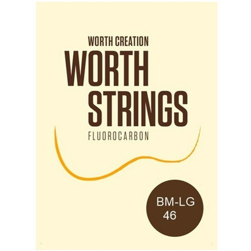 Worth Brown Medium Low-G Soprano / Concert Ukulele Ukuele Strings - 2 Restrings