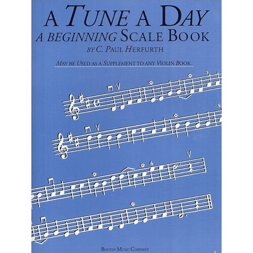 A Tune A Day Violin Beginning Scale Book (Softcover Book)