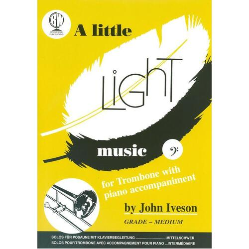 A Little Light Music For Trombone Bc (Softcover Book)