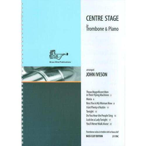 Centre Stage Trombone/Piano Bass Clef (Softcover Book)