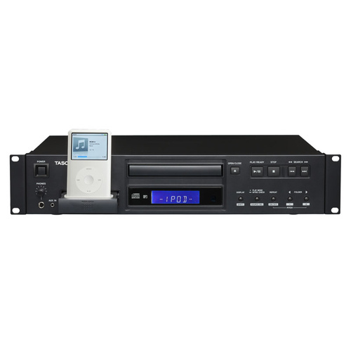 TASCAM CD200I CD Player With 30 Pin Ipod Dock (2u)