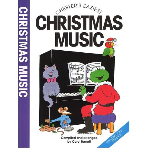 Barratt Easiest Christmas Music (Softcover Book)