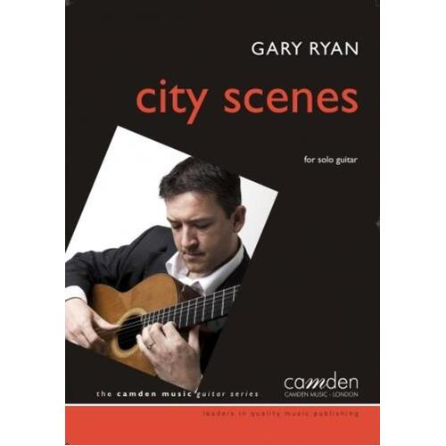City Scenes Guitar (Softcover Book)