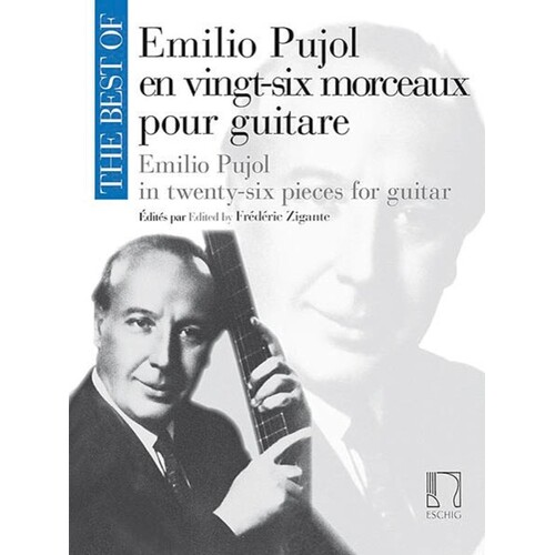 Best Of Emilio Pujol For Guitar