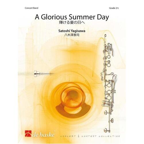 A Glorious Summer Day Concert Band 2.5 Score/Parts
