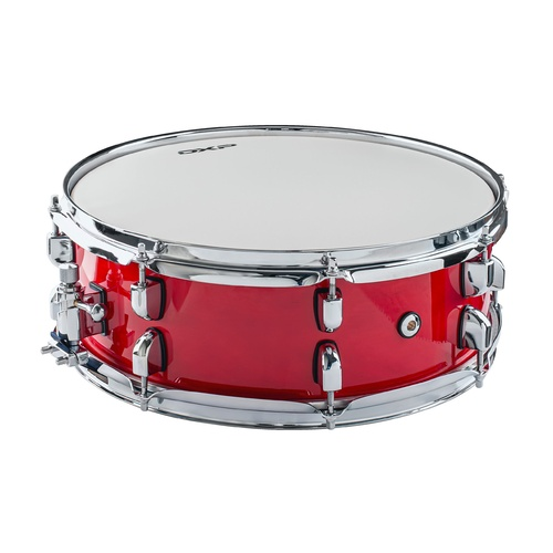 Maple shell snare drum