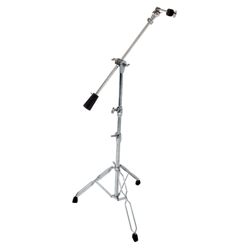 DXP Cymbal Weighted Boom Stand 350 Series, Heavy, Double Braced, Chrome