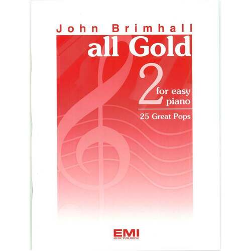 All Gold Book 2 Easy Piano (Softcover Book)